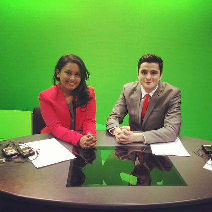 Presenting the 12pm and 4pm programme on City News for assessed project.