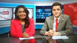 City News at 4pm. Broadcasting from City University, London
