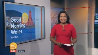 Morning presenting at ITV Wales