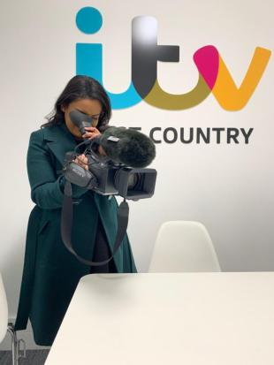 Self-shooting for ITV News from 2015 to 2020.