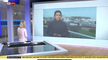 Live into the daytime output reporting on the developing situation in Dover with hauliers banned from entering Europe due to fears of UK Covid-19 variant.